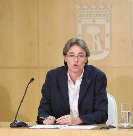Marta Higueras, primer teniente de alcalde del Ayuntamiento