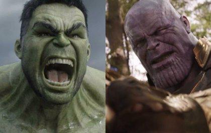 ¿Es Thanos más fuerte que Hulk en Infinity War?