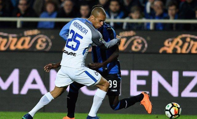 Miranda con el Inter de Milán