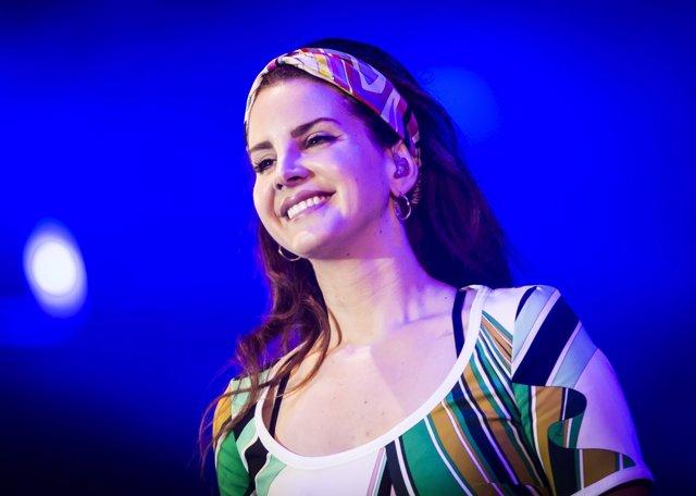 Lana Del Rey performs during BBC Radio 1's Big Weekend at Burton Constable Hall,