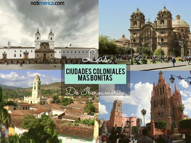 Ciudades coloniales más bonitas de Iberoamércia
