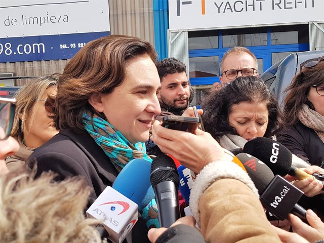 La alcaldesa de Barcelona, Ada Colau/ARCHIVO