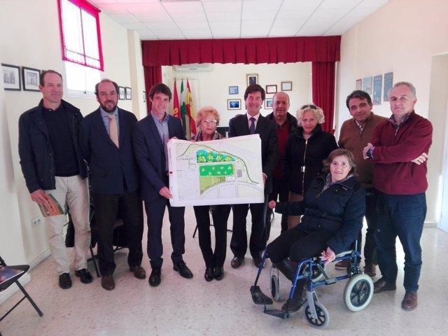 El Ayuntamiento presenta proyecto de complejo deportivo de Los Bermejales