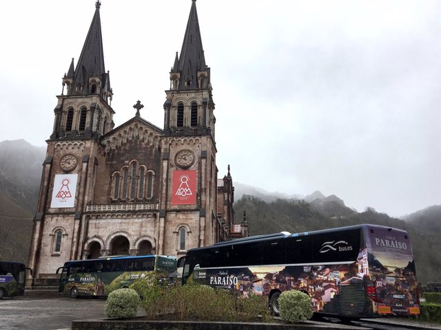 Campaña promocional autobuses nacionales Covadonga