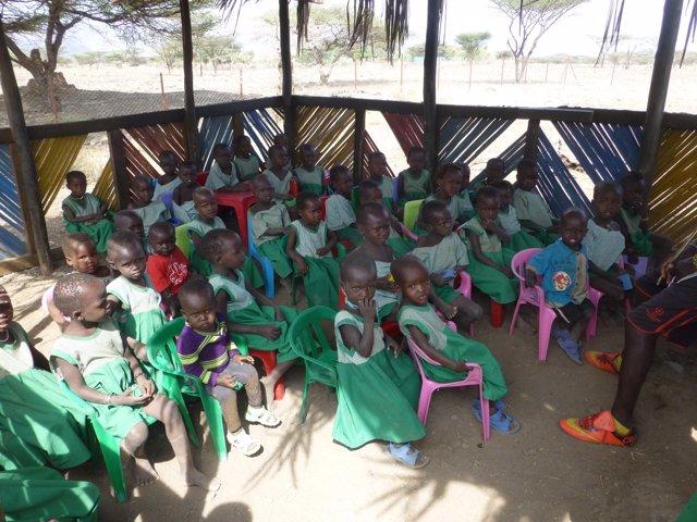 Colegio en Kenia
