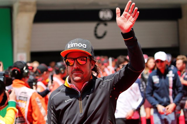 Fernando Alonso McLaren China