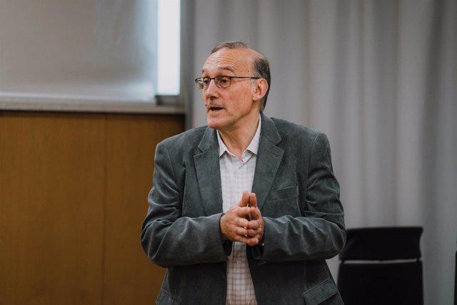 Manuel Reigosa, candidato a rector de la UVigo