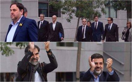El juez Llarena comunica hoy el procesamiento a Sànchez, Junqueras y Cuixart por rebelión