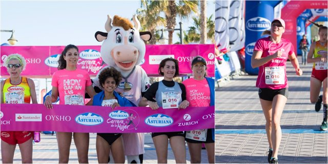 Carrera de la Mujer Central Lechera Asturiana de Valencia Mireia Belmonte