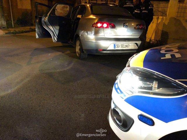 Detenida una pareja tras una persecución en Sevilla