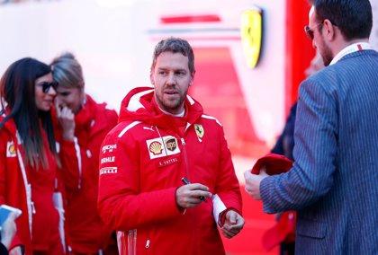 """Vettel: """"Tuve suerte de terminar la carrera"""""""