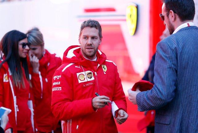 Sebastian Vettel, piloto de Ferrari