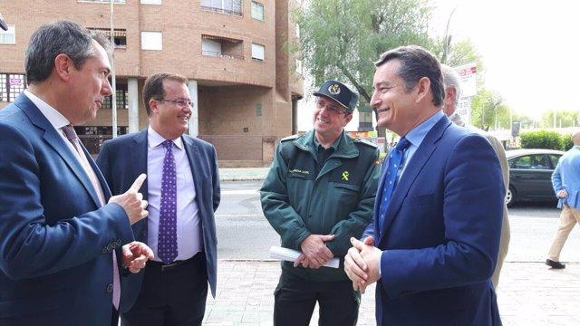 Antonio Sanz visita el Cecop
