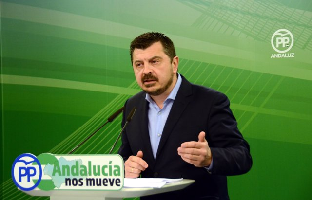 El vicesecretario de Organización del PP-A, Toni Martín