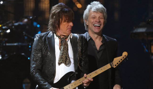 Bon Jovi y Richie Samoa