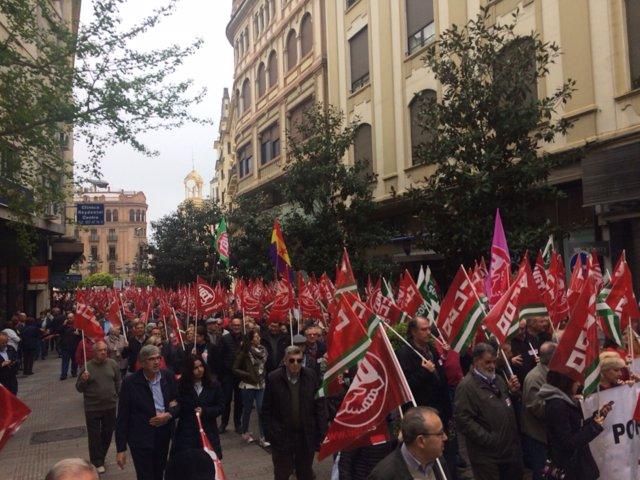 Manifestación en defensa de las 'pensiones dignas' este domingo