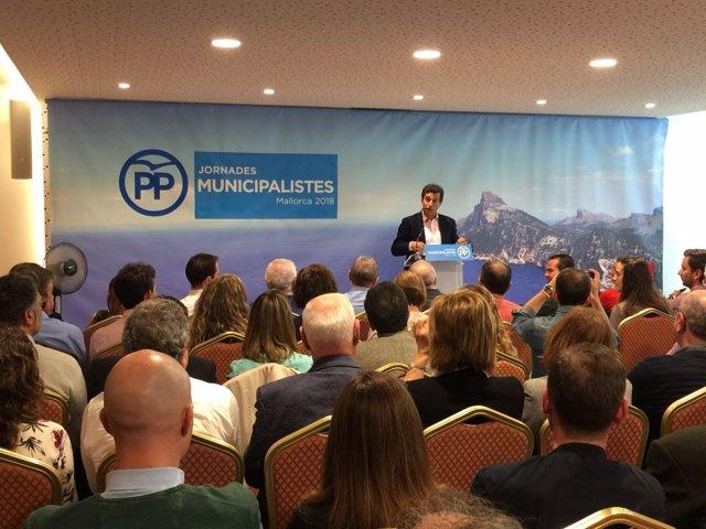 Company en las Jornadas Municipalistas del PP