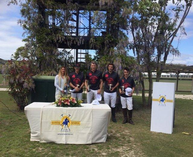 Ganador del Torneo de Primavera del Santa María Polo Club