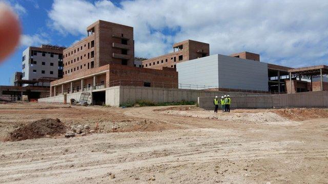 Obras para el nuevo hospital de Melilla