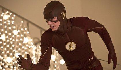 The Flash confiesa que no corre realmente en la serie
