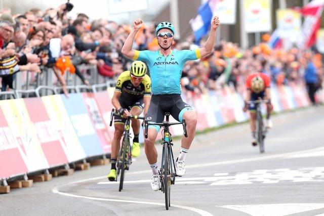 Michael Valgren Astana Amstel Gold Race