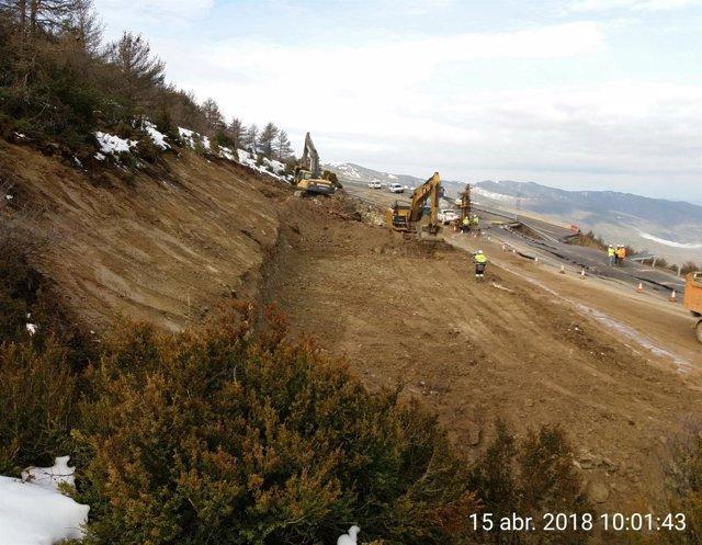 Fomento inicia las obras del desvío de la N-330.