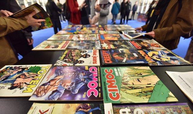 36 Edición Del Salón Internacional Del Cómic De Barcelona