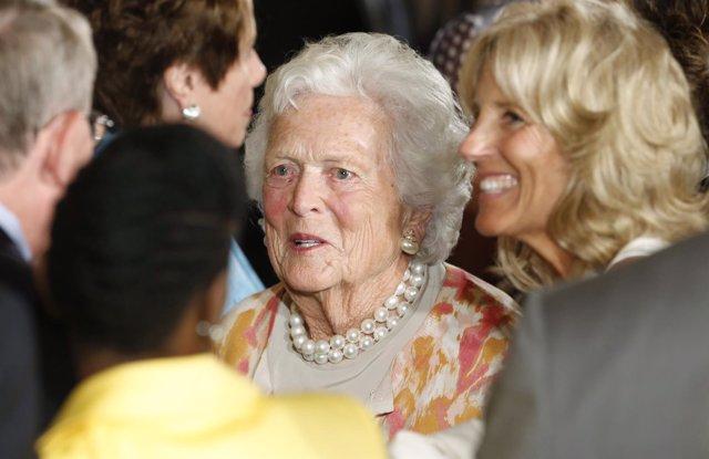 Barbara Bush, ex primera dama de EEUU