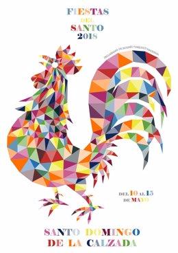 Cartel fiestas de Santo Domingo
