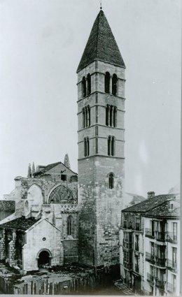 Imagen histórica de la Iglesia de La Antigua