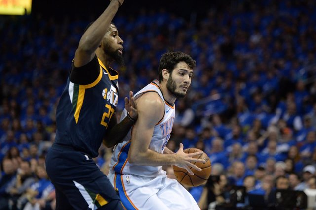 Abrines en el Oklahoma City Thunder - Utah Jazz