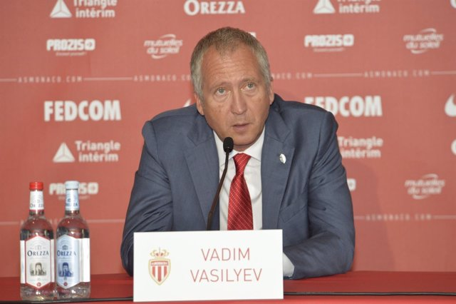 Vadim Vasilyev, vicepresidente del AS Monaco