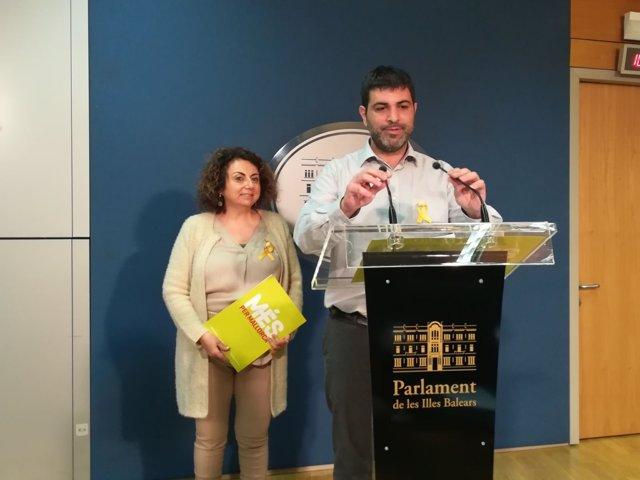 MÉS per Mallorca asegura que la aprobación de los PGE pasa por eliminar el 155 o abrir un diálogo 'más amplio'