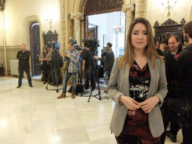 La diputada de Unidos Podemos Ana Terrón