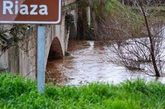 Imagen del río Riaza. Segovia 16/04/2018