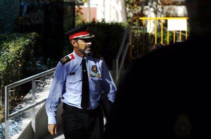Trapero puso a los Mossos a disposición del Tribunal Superior de Justicia de Cataluña el día de la DUI