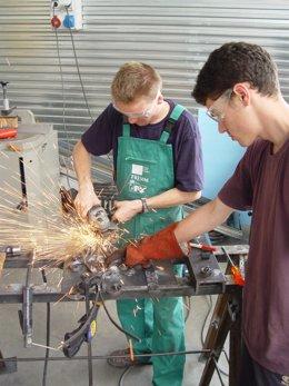 Trabajadores del metal
