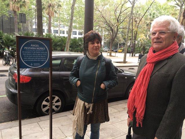 Gala Pin y Ricard Vinyes conmemoran a Ángel Pestaña