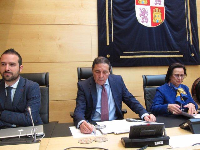 Sáez Aguado comparece en las Cortes 16-04-2018