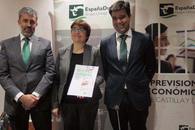 EspañaDuero presenta el último informe económico Valladolid. 16/04/2018