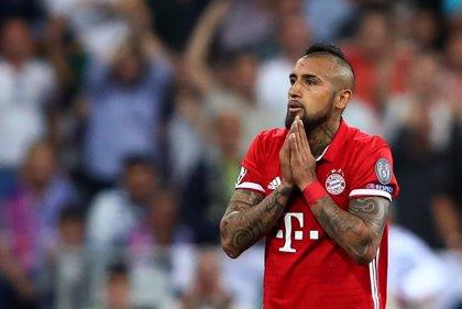 Vidal se operará de la rodilla y podría perderse la ida contra el Real Madrid