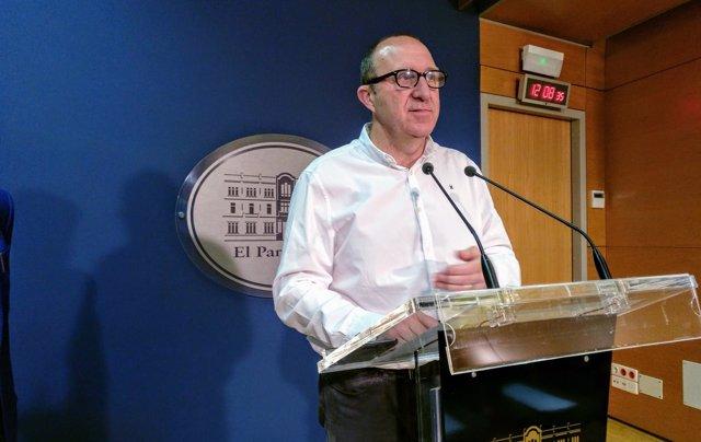 El portavoz del PSIB, Andreu Alcover