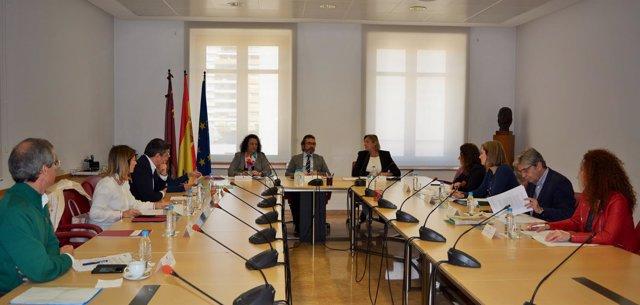 Rivera Preside Reunión Comisión Seguimiento Estrategia Víctimas Terrorismo
