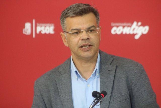 Juan Antonio González en la rueda de prensa de este lunes