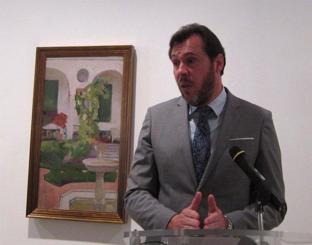 El alcalde de Valladolid, Óscar Puente. 28-03-2018