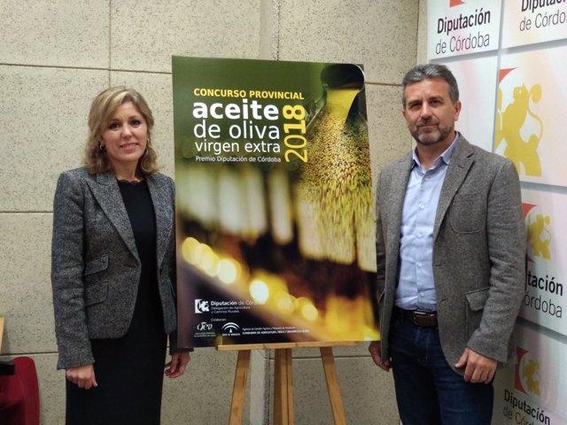 Sánchez y Romero presentan el Concurso de AOVE 'Premio Diputación'