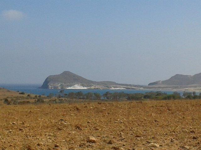 Playa de los Genoveses en el Parque Natural de Cabo de Gata Níjar