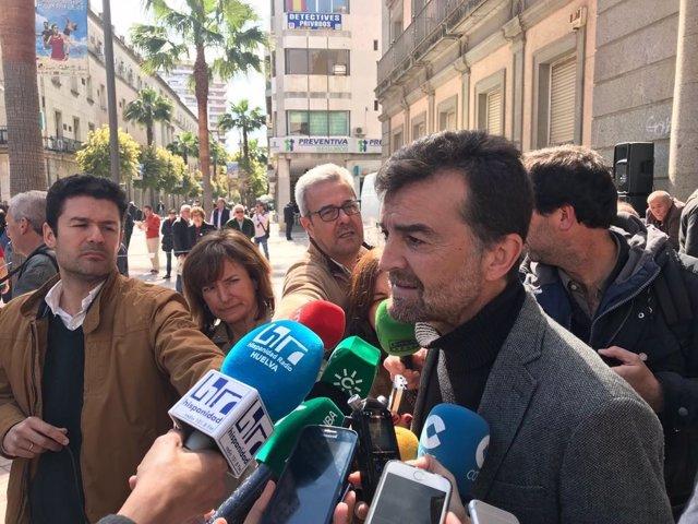 El coordinador general de IU en Andalucía, Antonio Maíllo.
