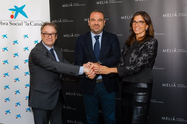 Convenio entre Meliá Hotels International y 'la Caixa'