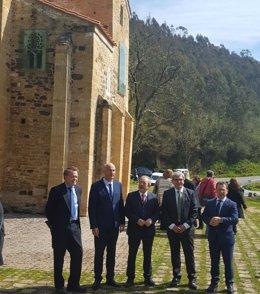 Presentación del proyecto restauración pinturas San Miguel de Lillo